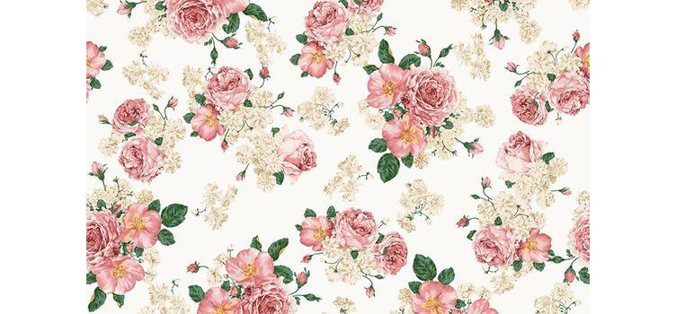 3 tipos de estampas florais