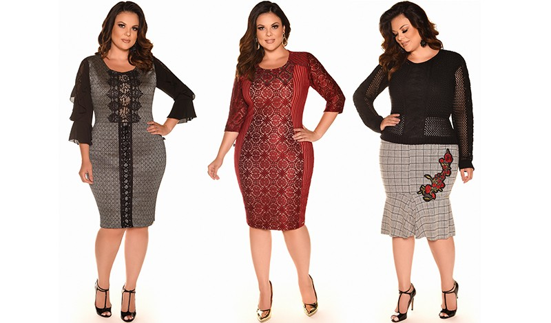 vestidos plus size fascinius blog via evangelica