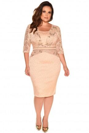 10251 vestido justo curto renda bordado acenturado facinius via evangelica