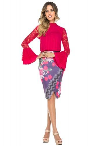 saia lapis floral roxa jany pim viaevangelica