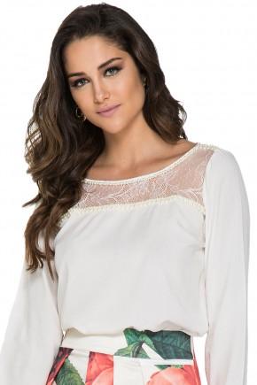 blusa off white bordada manga longa jany pim viaevangelica
