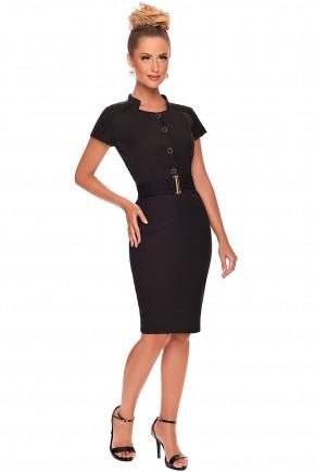 vestido preto tubinho cinto zunna ribeiro viaevangelica