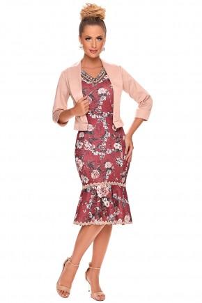 vestido sino estampado bordado blazer zunna ribeiro viaevangelica
