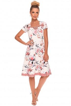 vestido estampado floral bordado zunna ribeiro viaevangelica