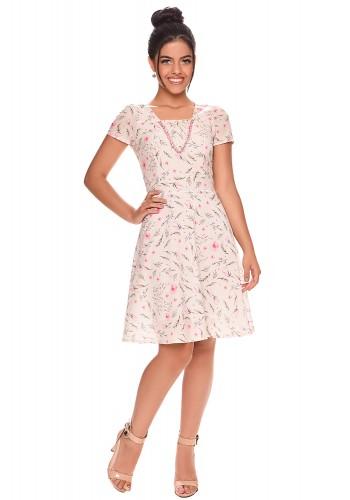 vestido moda teen gode estampa floral zunna ribeiro viaevangelica