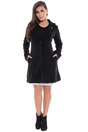 casaco trench coat preto via tolentino viaevangelica frente