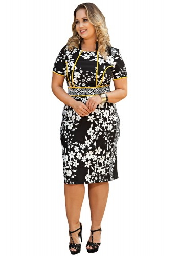 Vestidos moda evangelica plus size