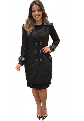casaco preto kauly paola santana via evangelica
