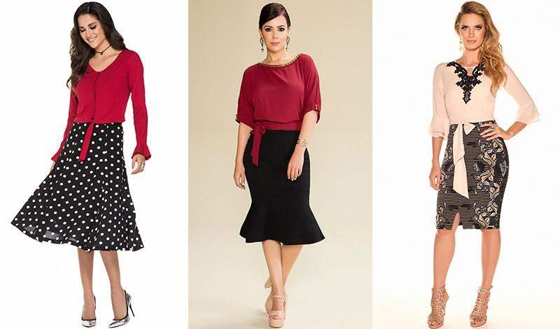 blusa vestido com amarracao na cintura blog via evangelica