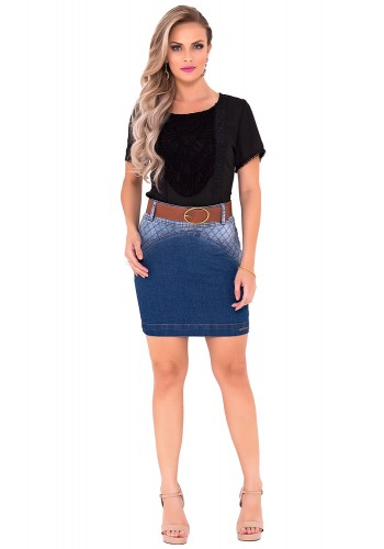 saia jeans degrade laura rosa viaevangelica frente