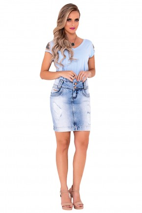 saia jeans custa degrade azul claro laura rosa viaevangelica frente