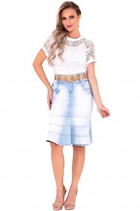saia sino jeans clara laura rosa viaevangelica frente