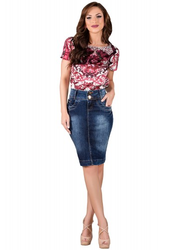 saia jeans escura tradicional titanium viaevangelica frente