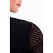 camisa detalhado em rendas preto via tolentino viaevangelica costas detalhe