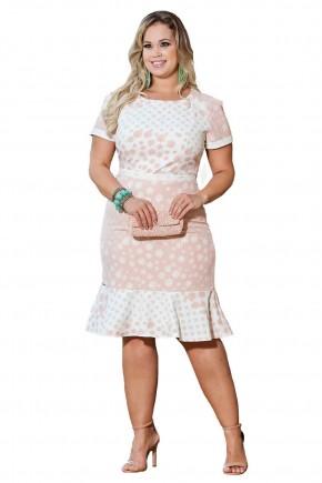 vestido plus size rose estampado kauly viaevangelica frente