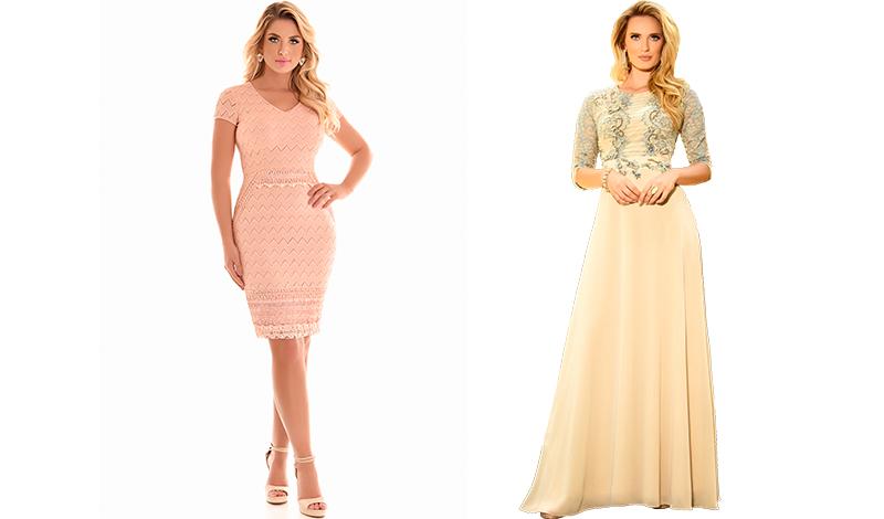 vestido longo bordado tendencia look casamento evangelico blog viaevangelica