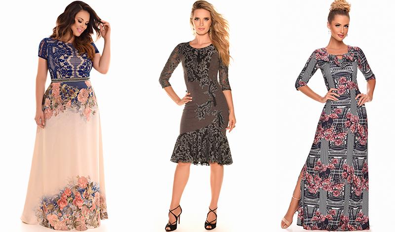 vestido longo estampado bordado tendencia look casamento evangelico blog viaevangelica