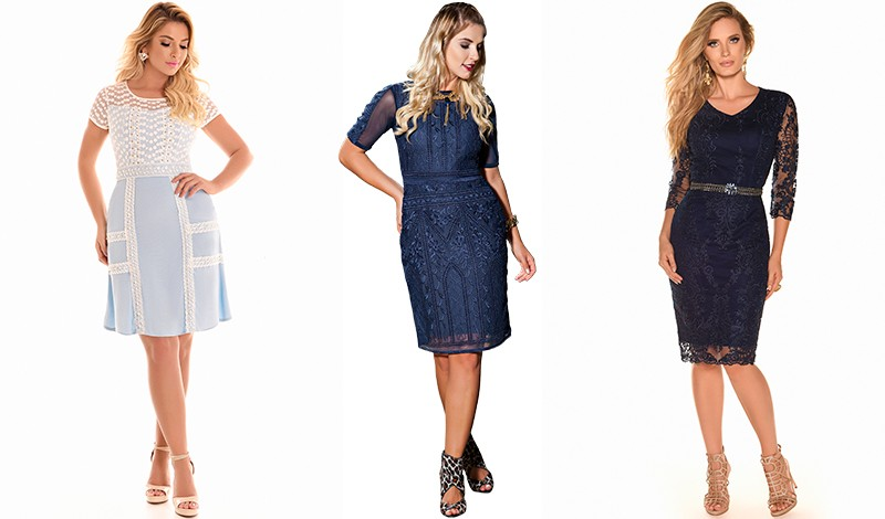 vestido renda bordado tendencia look casamento evangelico blog viaevangelica