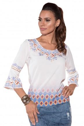 blusa off white manga sino entremeios estampa liberty via tolentino viaevangelica frente detalhe