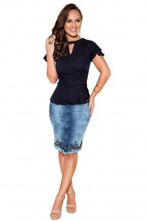 saia tradicional jeans bordados florais barra vazados titanium viaevangelica frente fileminimizer