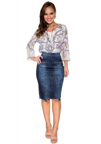 saia jeans lapis detalhe ziper recorte assimetrico titanium viaevangelica frente fileminimizer