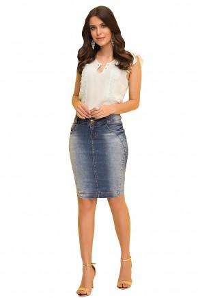 saia tradicional jeans laura rosa viaevangelica frente