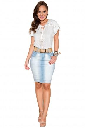 saia jeans clara justa tradicional com cinto titanium viaevangelica frente fileminimizer